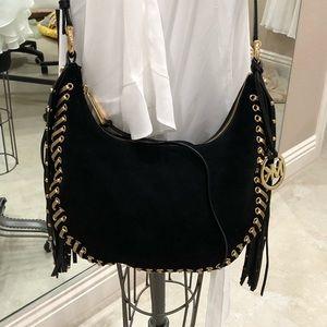 Michael Kors fringe shoes bag